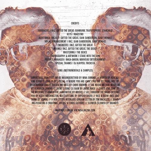 RKZ - #WordsOfAdrenaline [Mixtape] [R&B/Hip-Hop] [Free Download] Credits