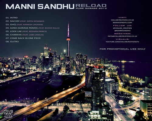 Manni Sandhu - Reload [Mixtape] [Garage] [Free Download] Tracklist
